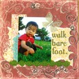 walk bare foot